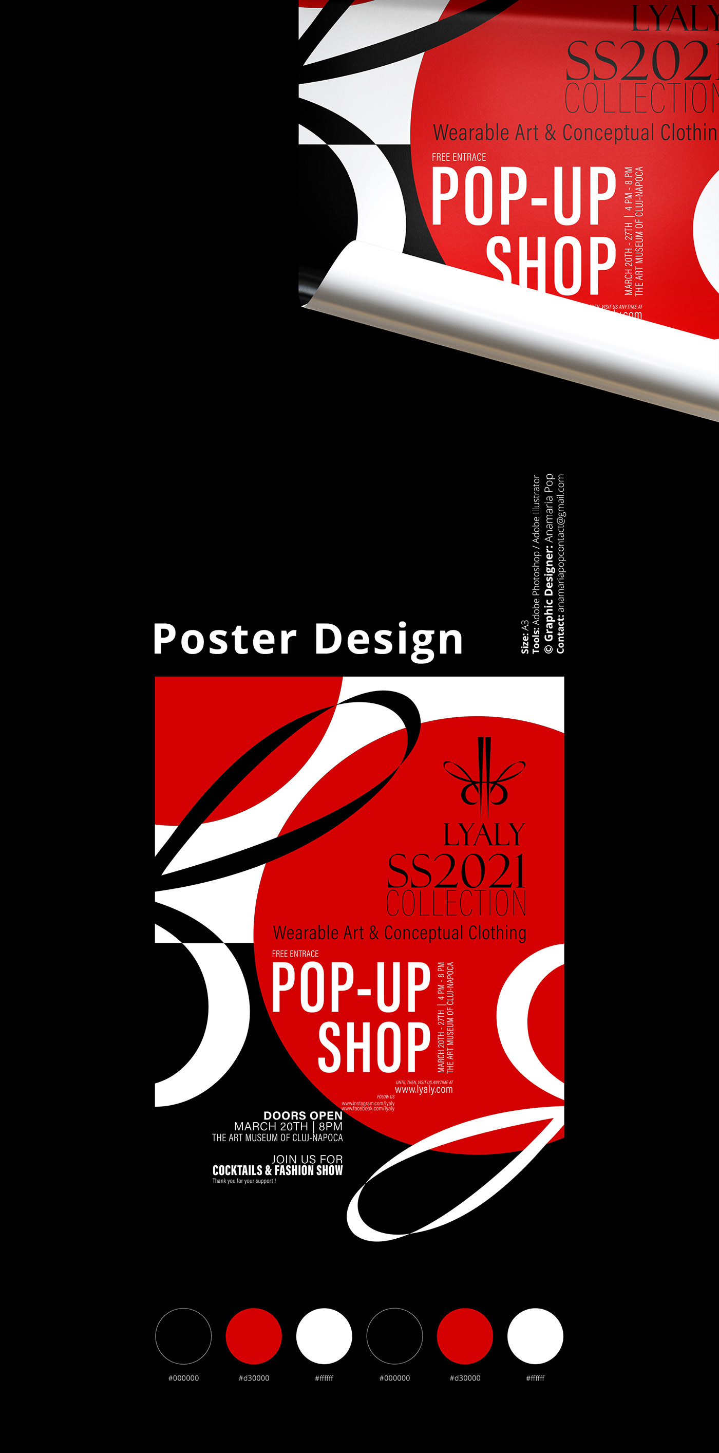 branding  design editorial poster print Fashion  graphic design  type typography   visual identity