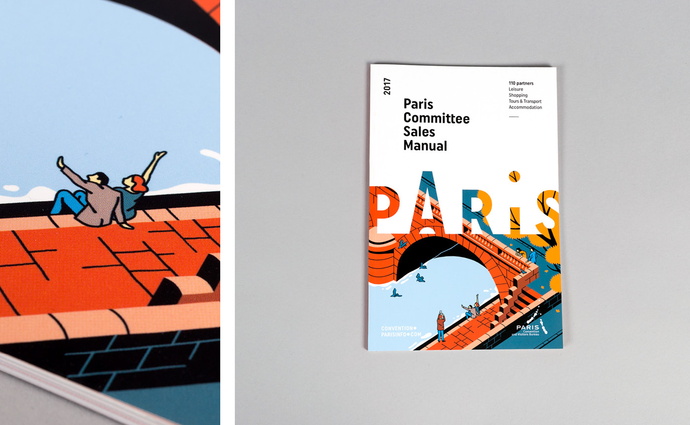 Paris convention visitors bureau on behance