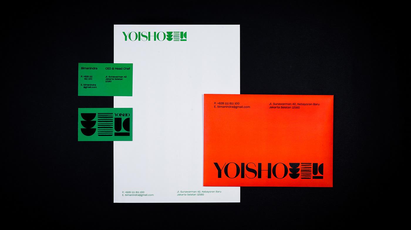 branding  Label Packaging restaurant
