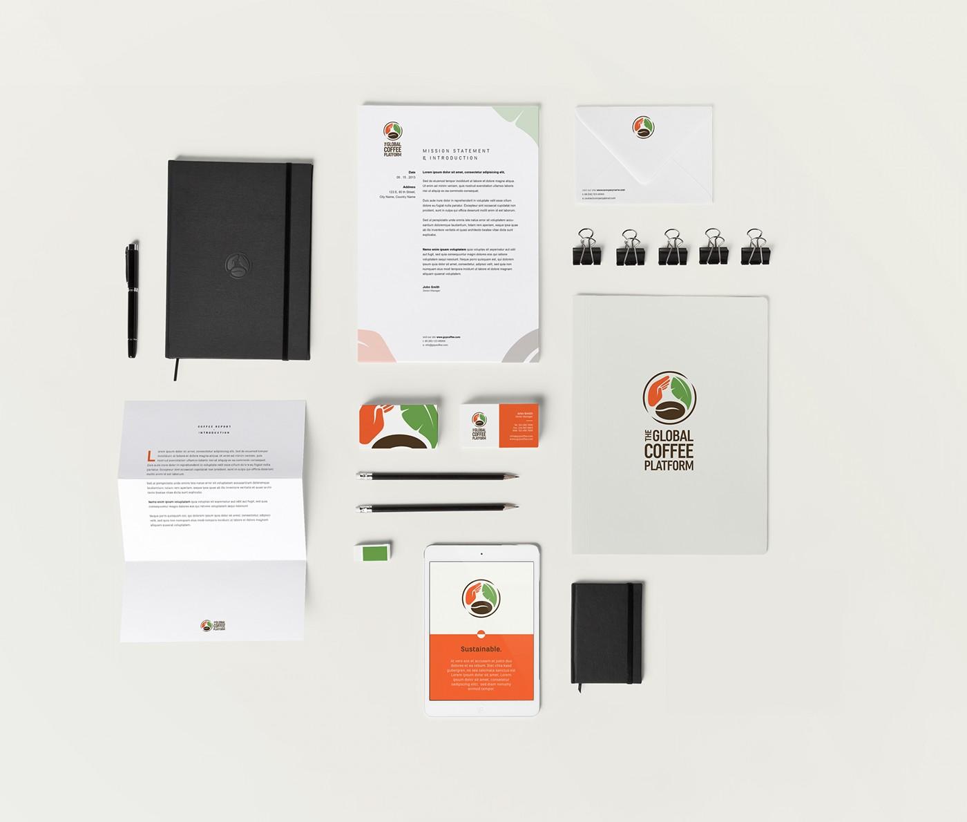 branding  identity design onic berlin Coffee