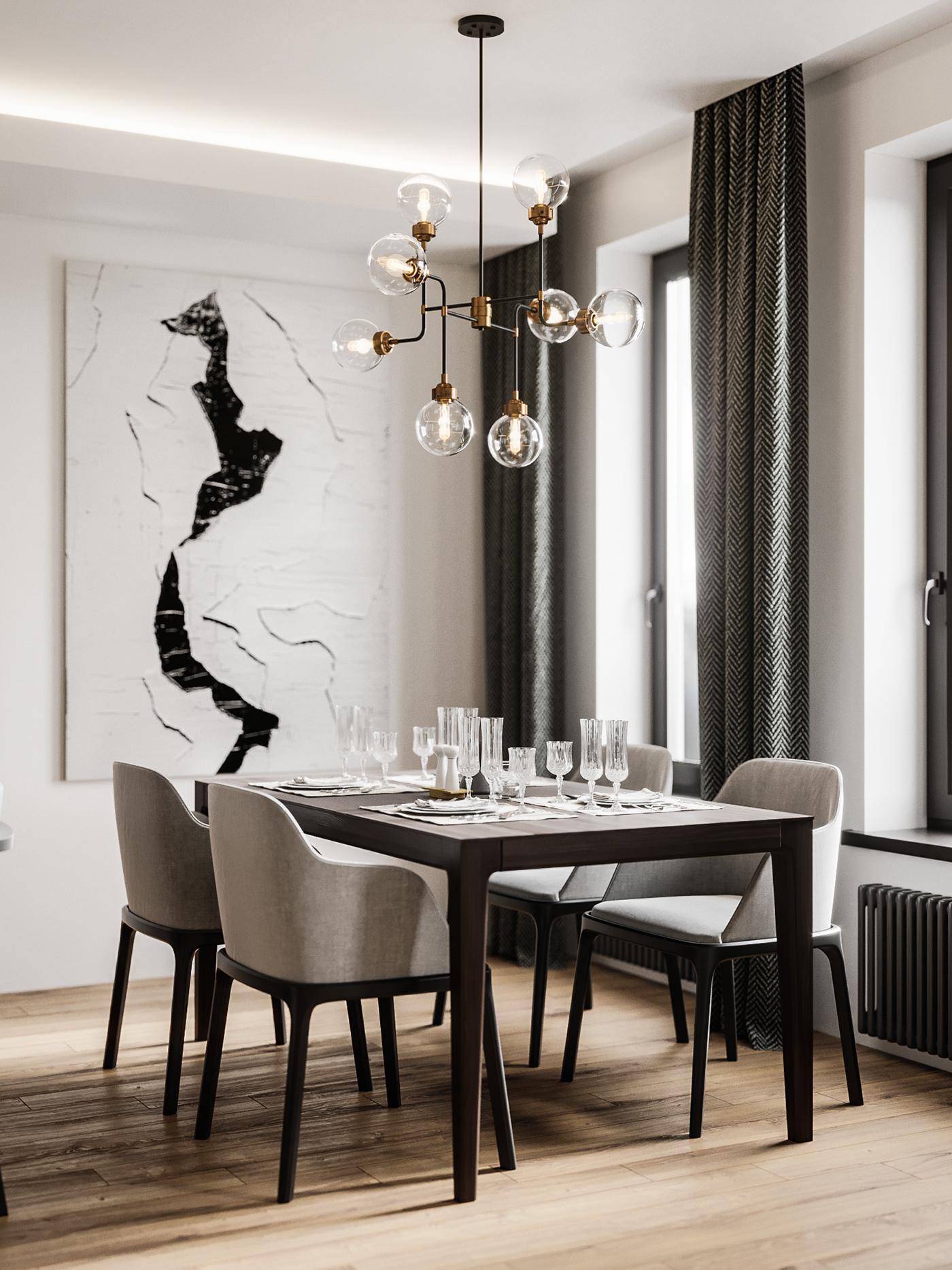 3ds max corona Render photoshop minsk belarus Moscow design Vizualization furniture