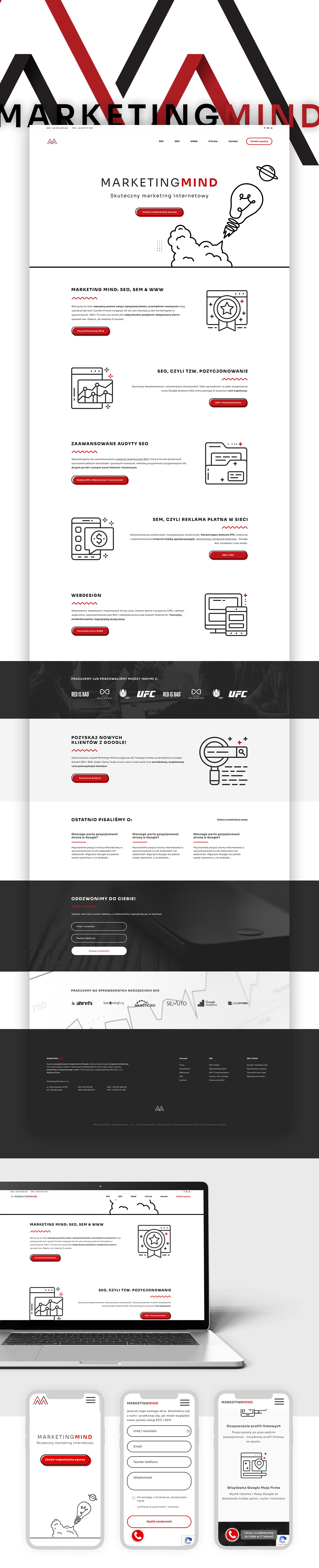 ad agency creative agency Logo redesign ui design Web Design  wordpress