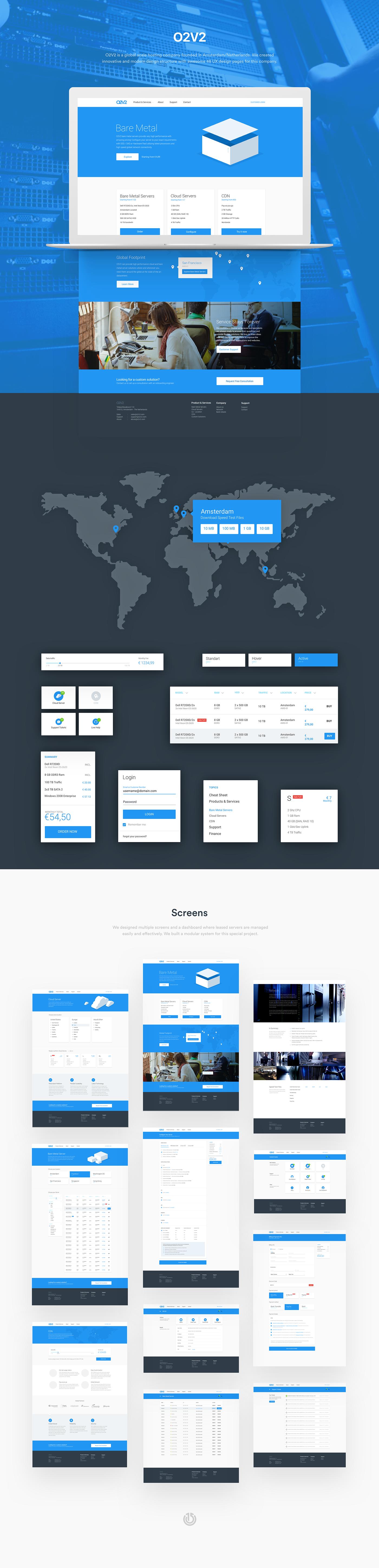 cloud,hosting,UI,ux,dashboard,material design,listing,checkout,cart,server