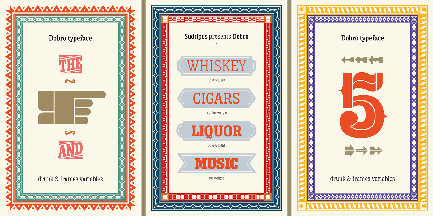bluegrass music font woodtype typography   poster design