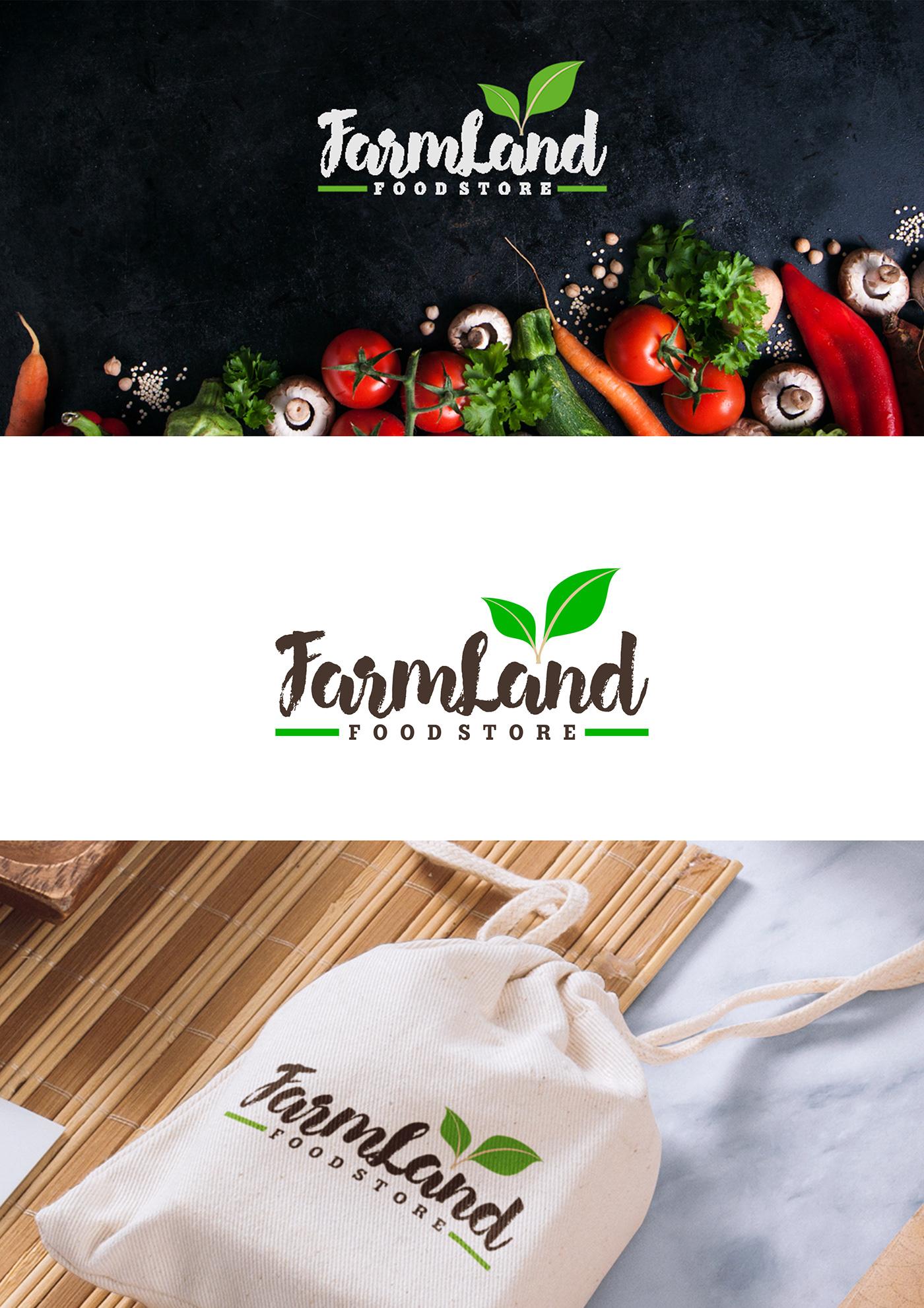 Food  branding  Logo Design packaging design print