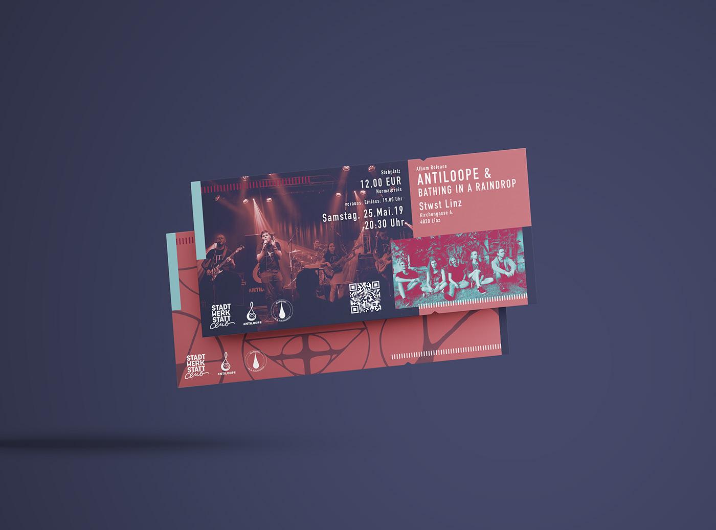 有設計感的19套入場票券設計欣賞