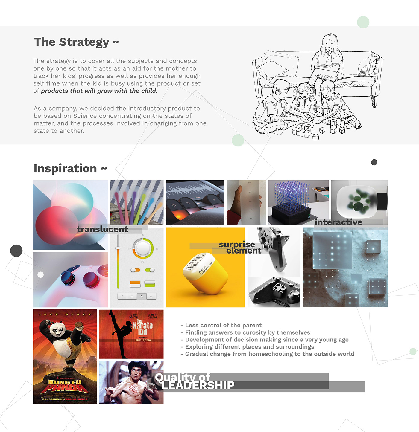 design research designing for kids emotions Holistic development industrial design  learn through play product design  science sensorial learning toy design