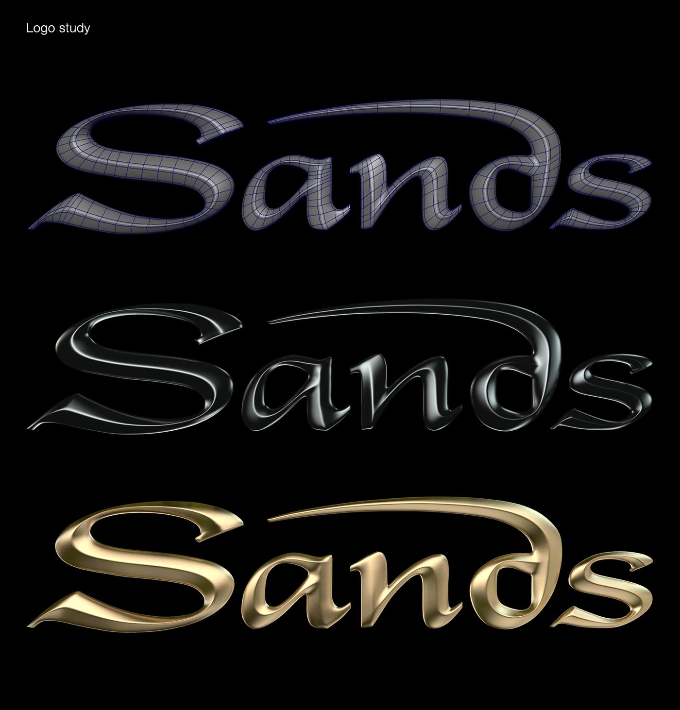MBS,marina,Bay Sands,3D,Maya,animation ,logo,arnold