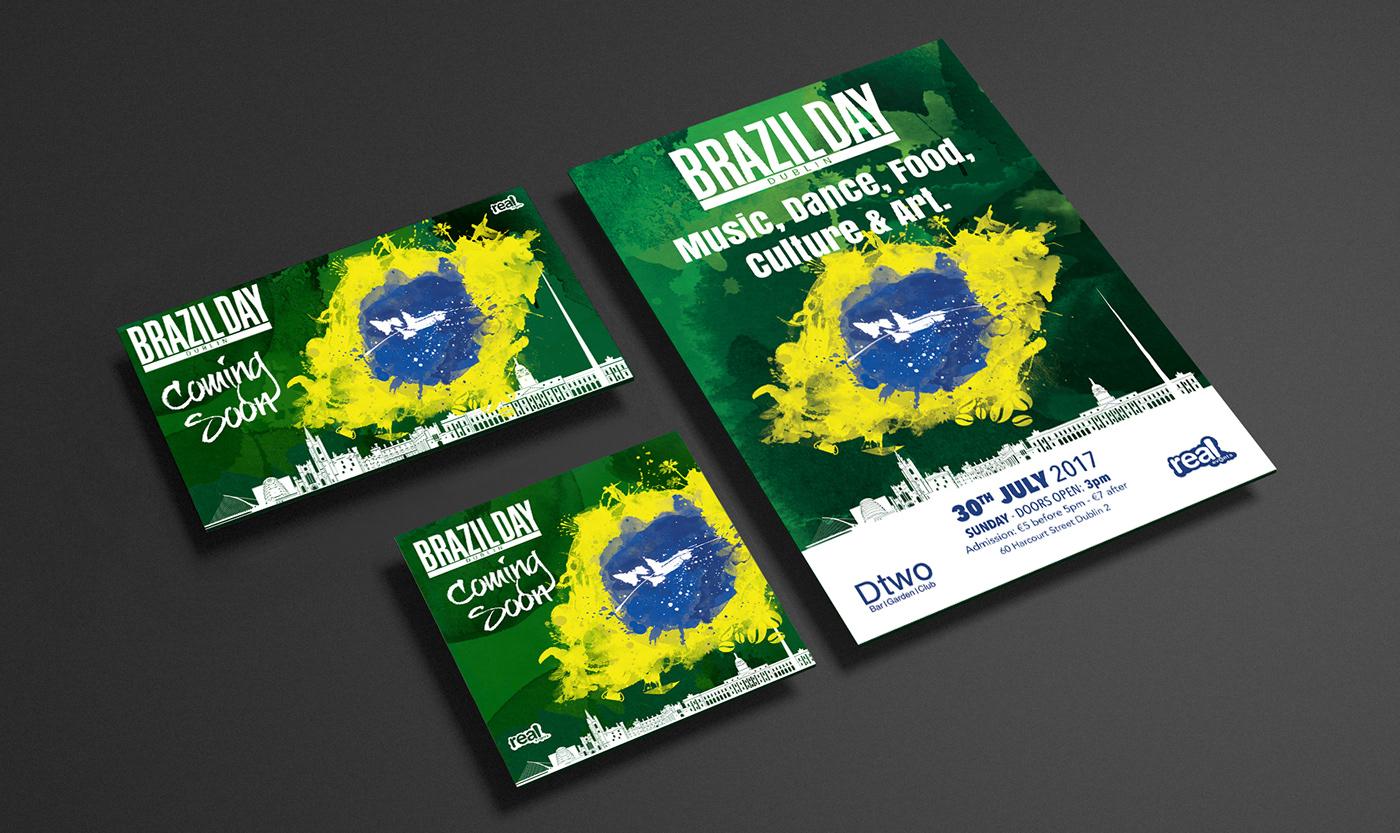 social media facebook poster dublin Ireland brazilday Carnival FestaJunina Halloween fanpage