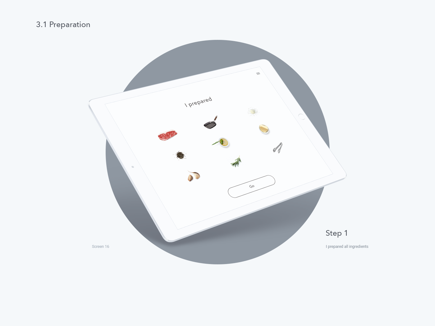Interaction Design: I, Steak Mobile App