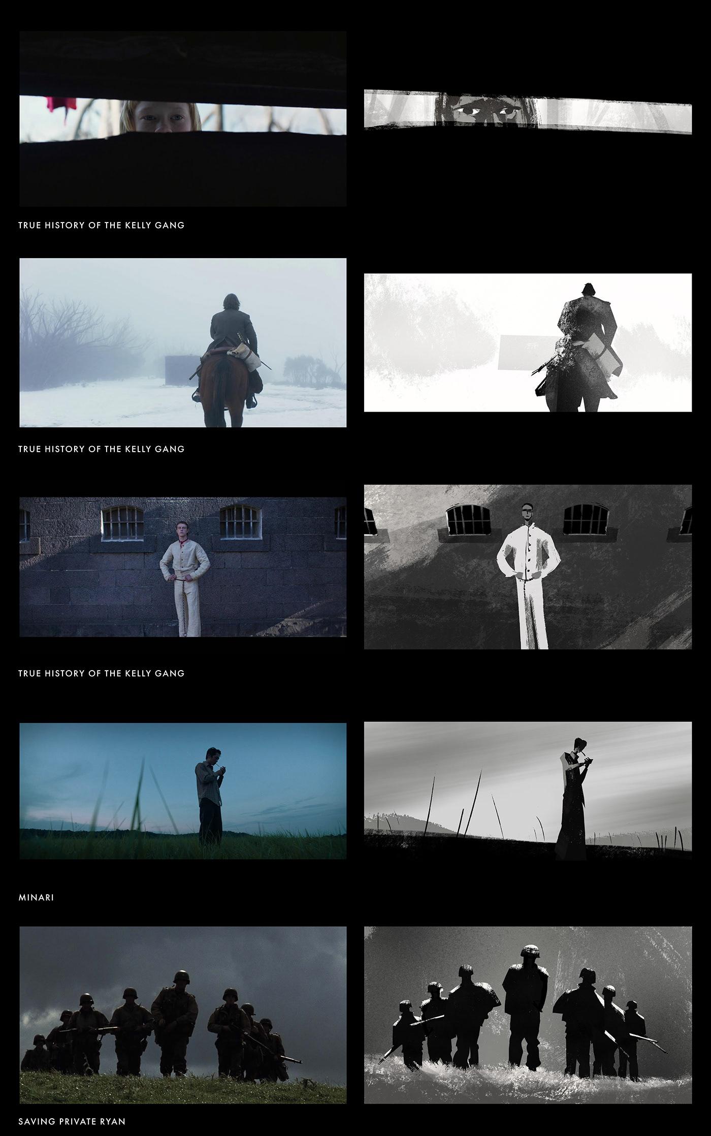 art direction  composition concept concept art Digital Art  Procreate storyboard Visual Development visual storytelling