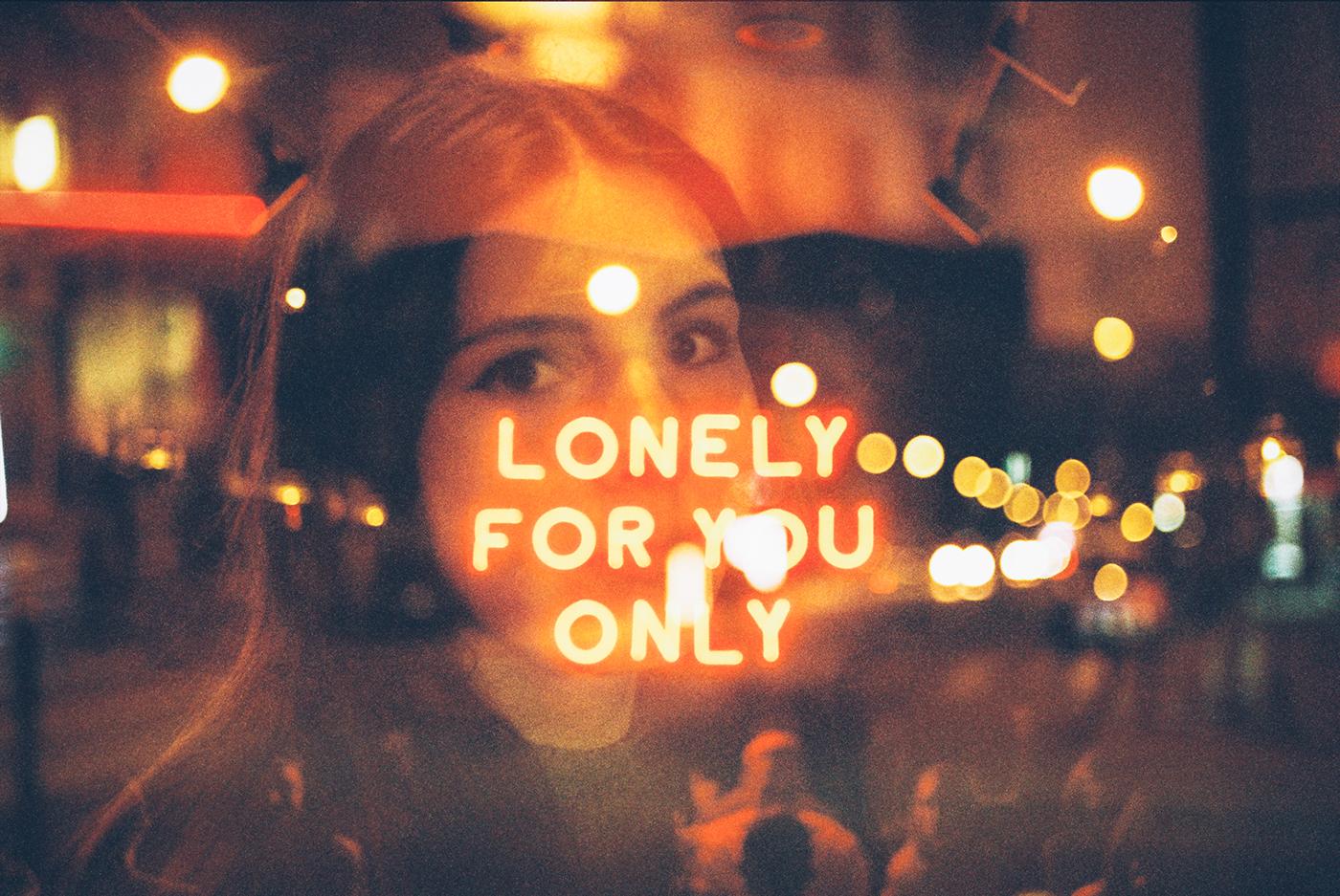 Film  ,analog,double exposures,neon,signs,dark,mood