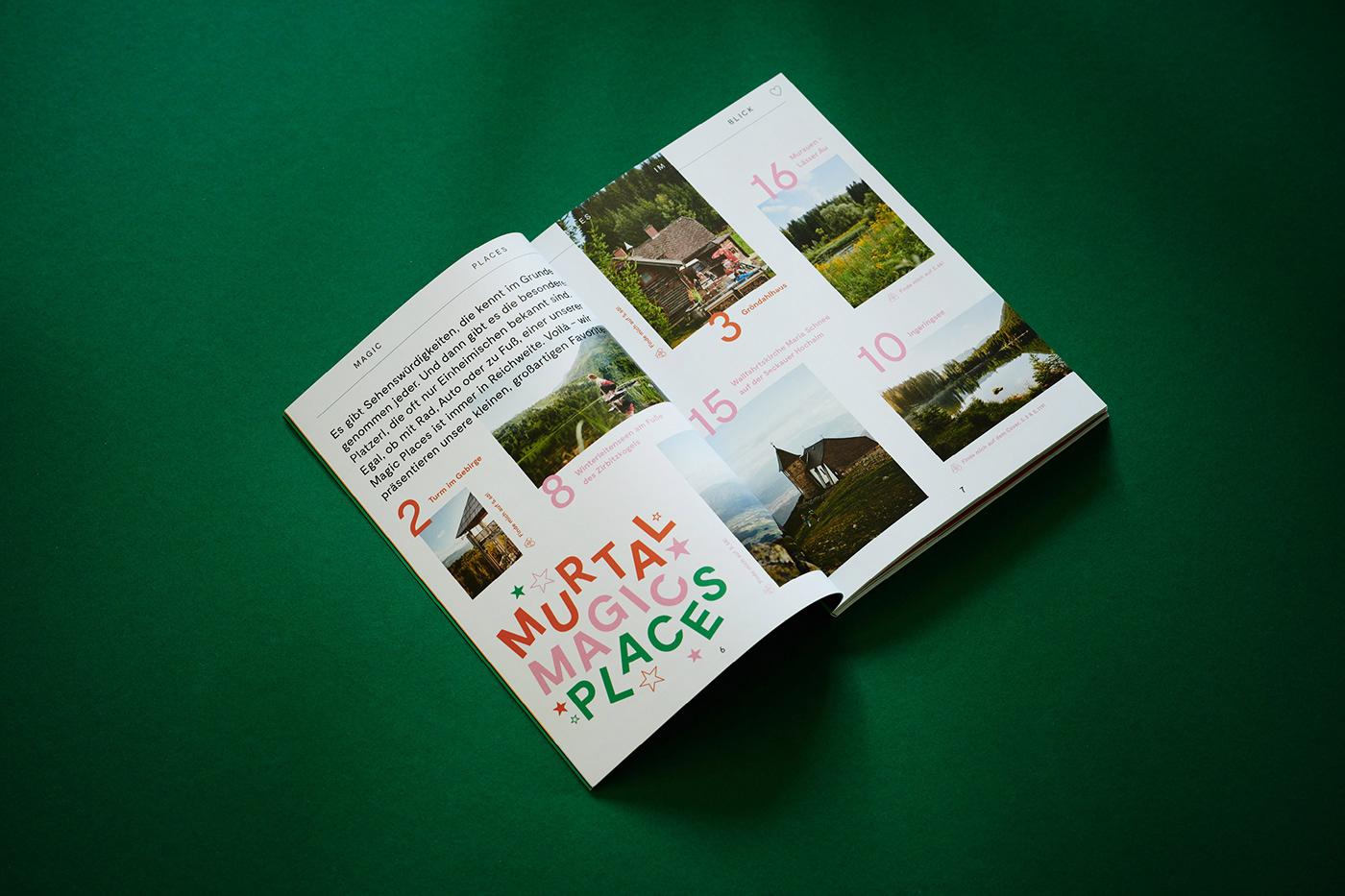 austria book colors editorial katharina zimmermann print seasons Studio Marie Zieger Travel Travel book