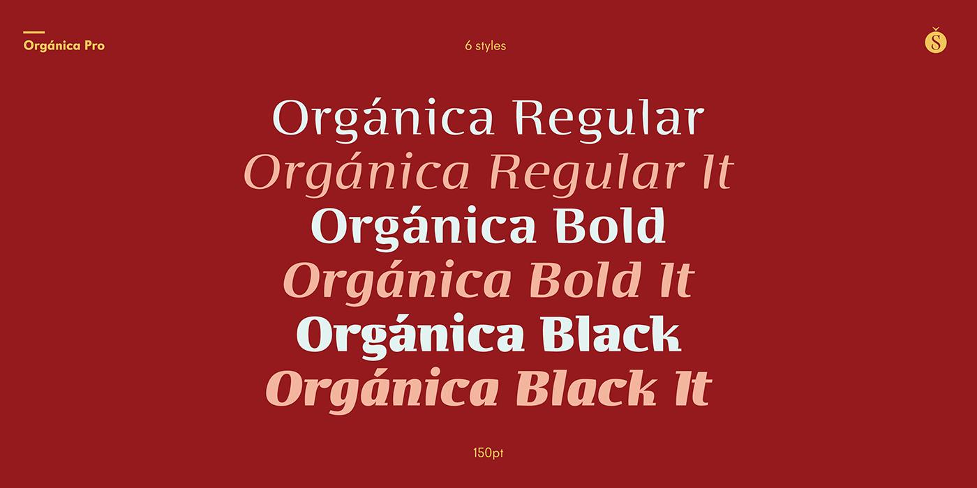 font modern organic semi sans semi serif sudtipos typography