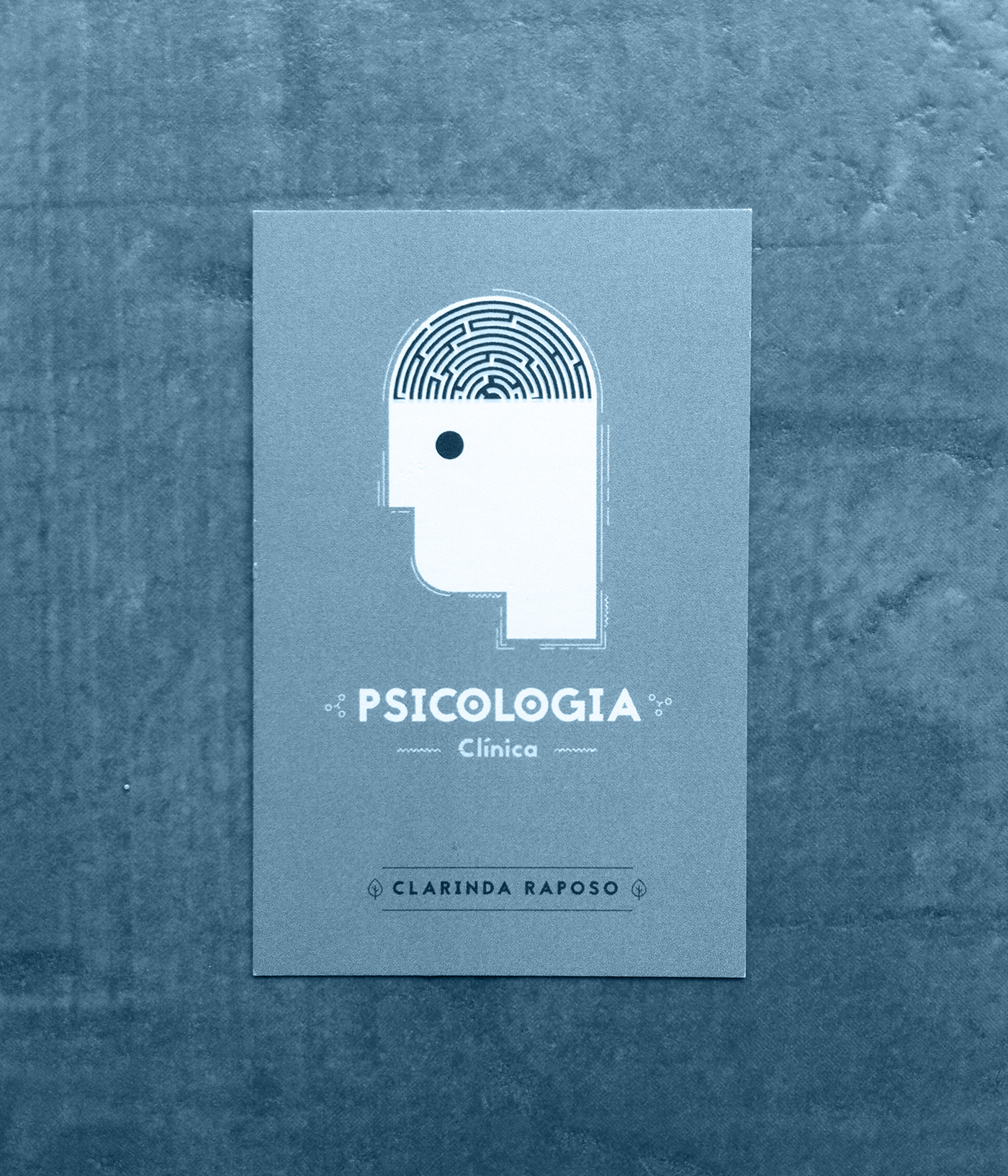 Psychologist Business Card On Behance