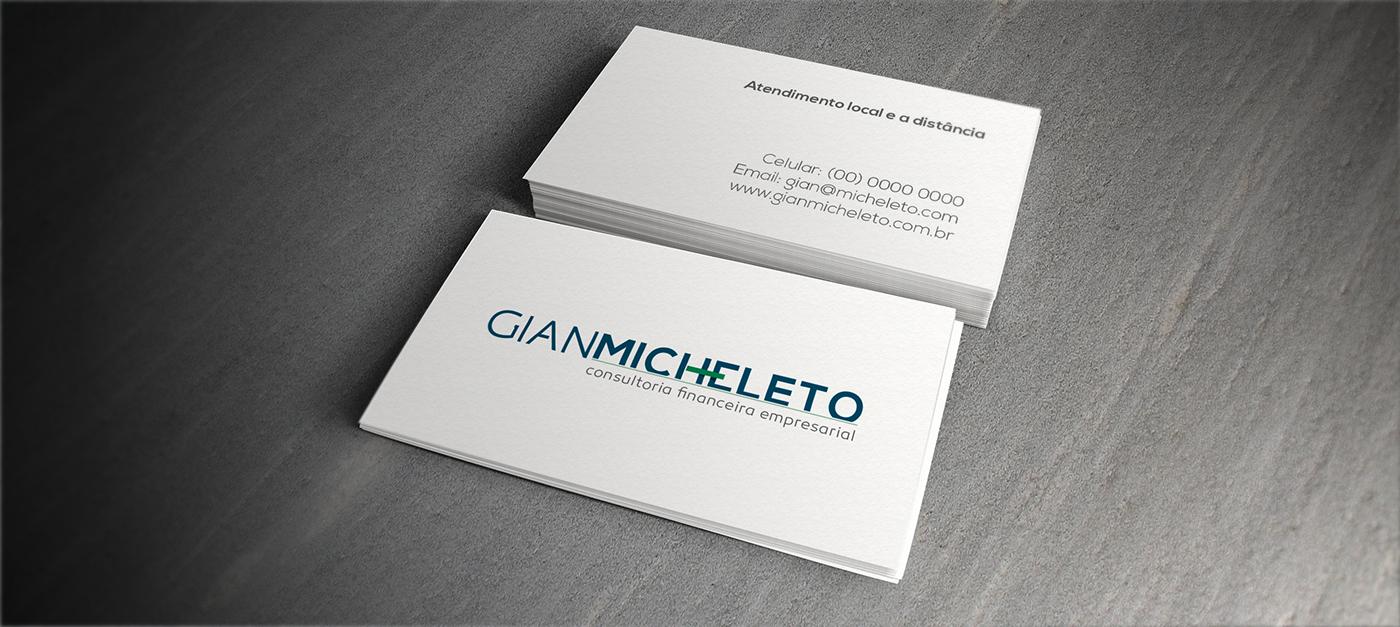 brand marca Stationery Website Contador gian micheleto aleto aleto design digital aleto design