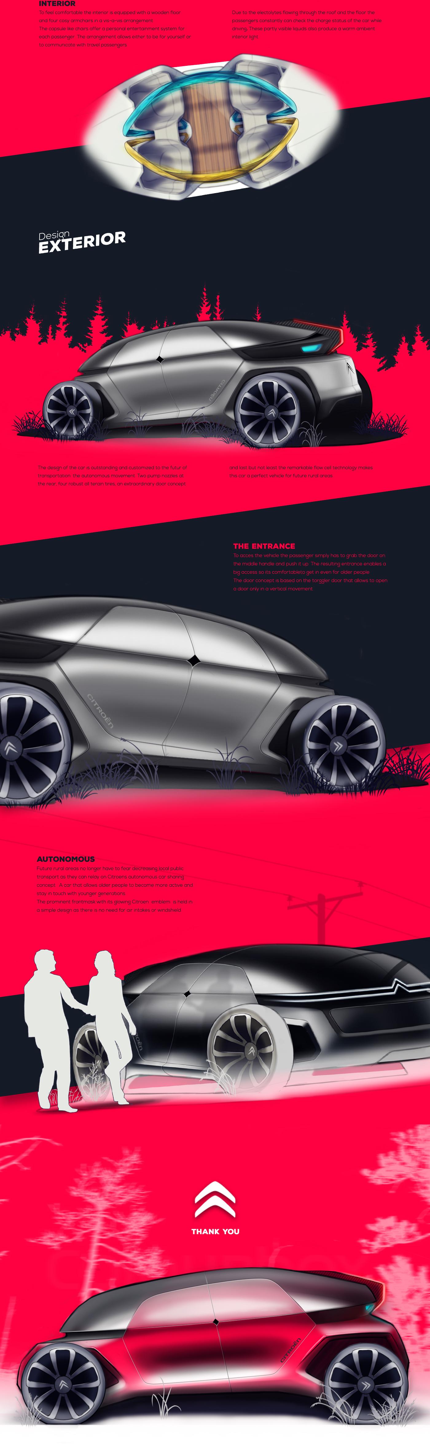 concept car,Transportation Design,Rural Mobility,Citroen Rural