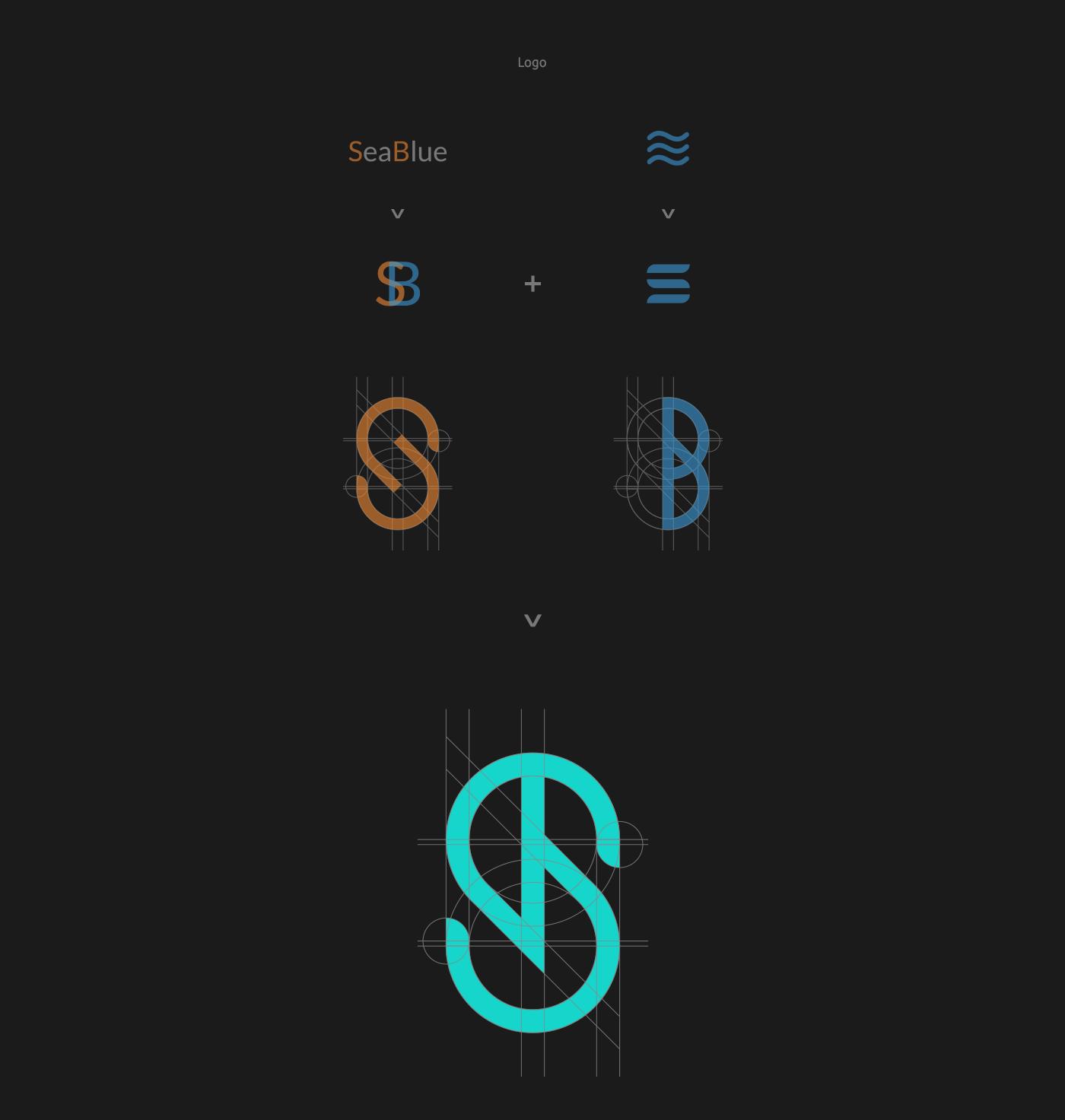 Web sea blue logo VI rwd anchor phone ferry black