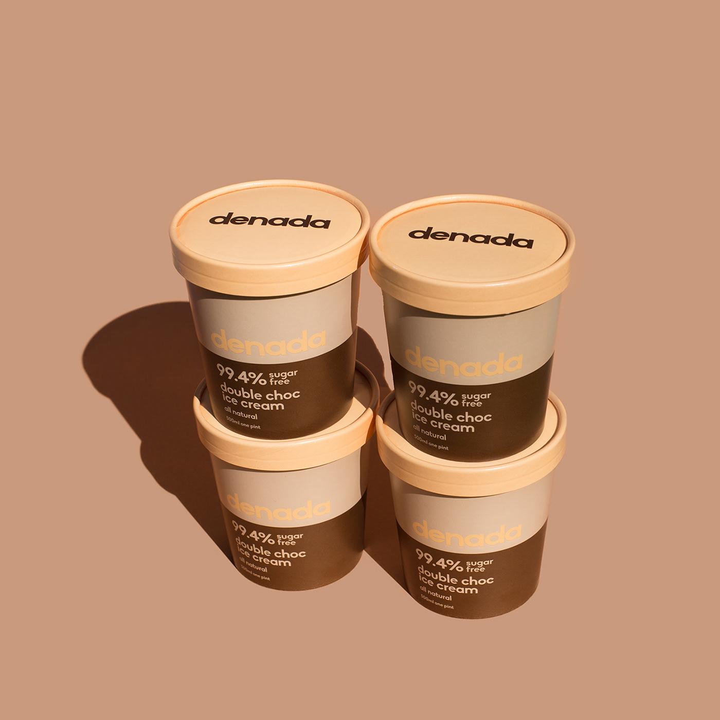 Jo Cutri Studio. Branding. Packaging Design. Ice Cream. Sugar Free. Graphic Design. Logo. Packaging