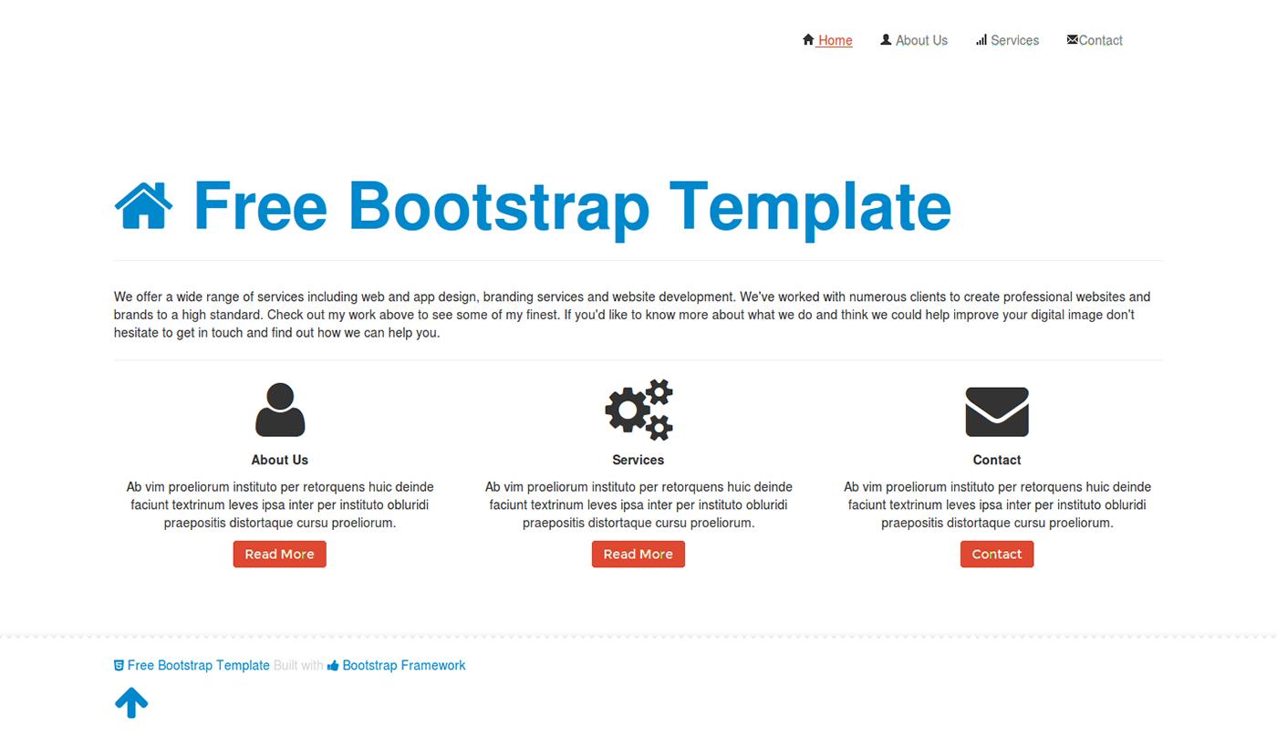 高質感的20款bootstrap免費模板欣賞