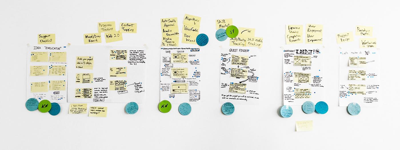 Design Sprint Week on Behance