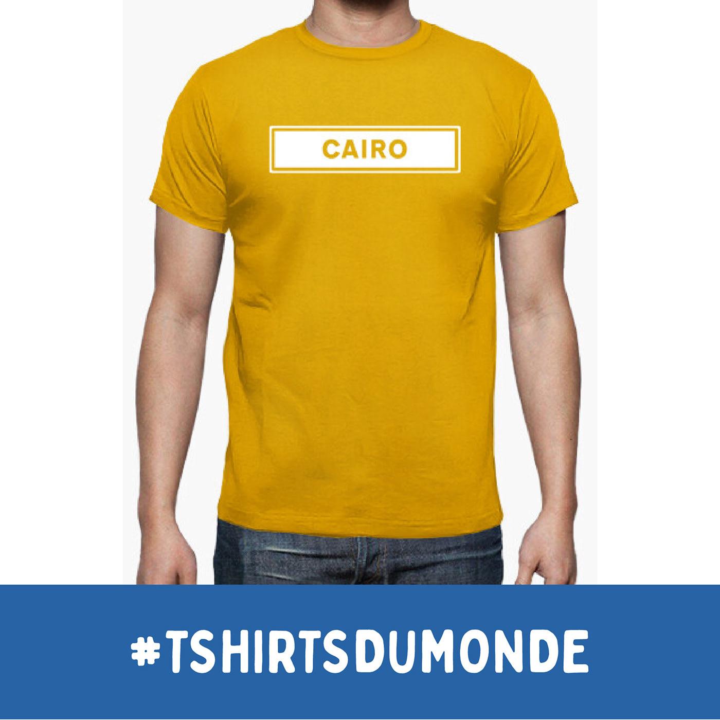 CAIRO / T-SHIRTS DU MONDE Collection, by Brassens Studio / ©Tomás Sastre