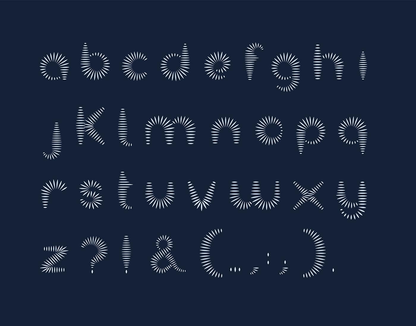 typography   font design graphic design  Kinetic Type Illustrator display font typography design animated type