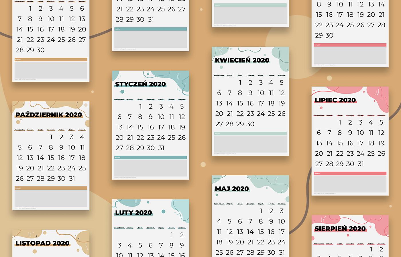 calendar goal planner planner planning kit