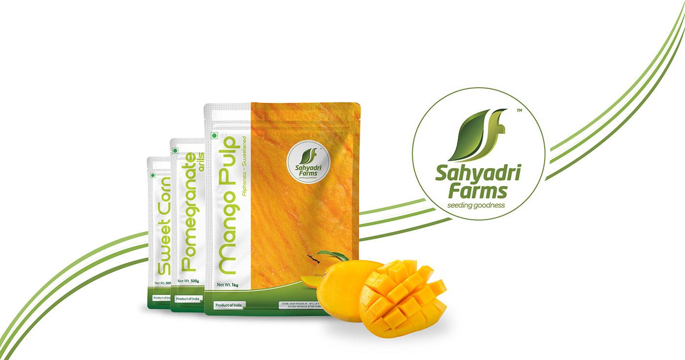 Sahyadri Farms Food Packaging farm packaging Mango fruits vegetables Startup Farms