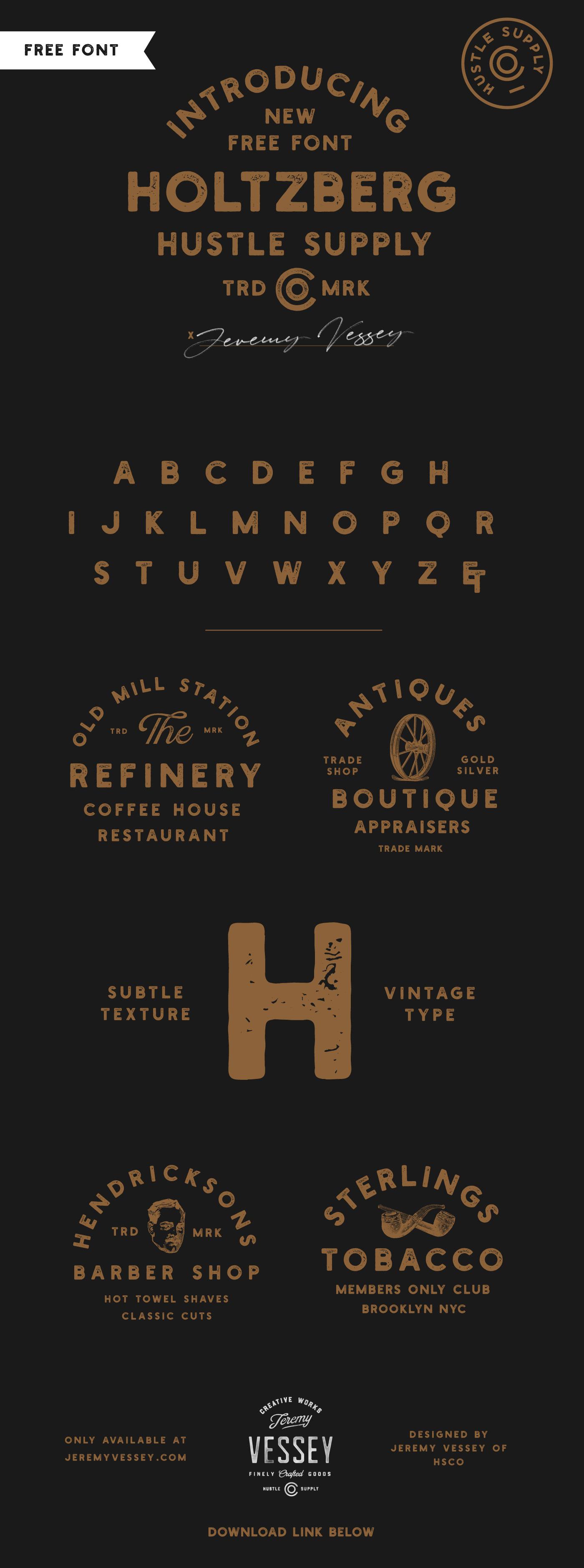 Free font free fonts vintage Typeface free freebie Retro texture typography   vintage logo