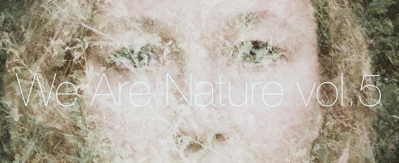 multiple exposure double exposure in-camera Nature finland Scandinavia portrait we are nature contemporary vintage