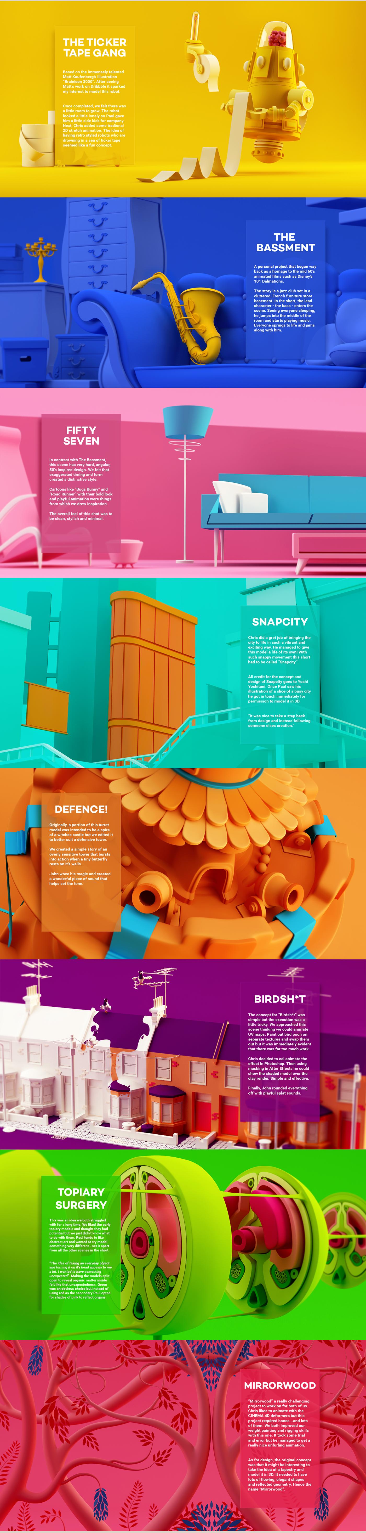 animation  art direction  design motion 3D Modelling CGI