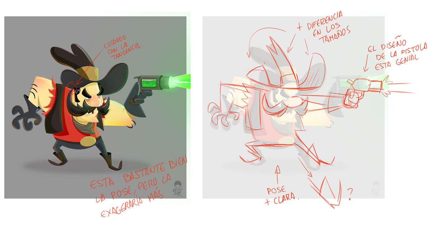 Good Character Design Portfolio : Schoolism advanced character design class self taught on