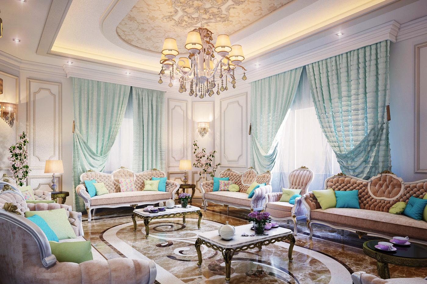 優質的34張客廳牆壁顏色欣賞