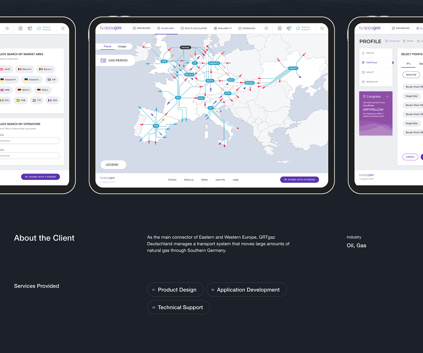 blue brand identity dashboard Data design Gas UI UI/UX ux White