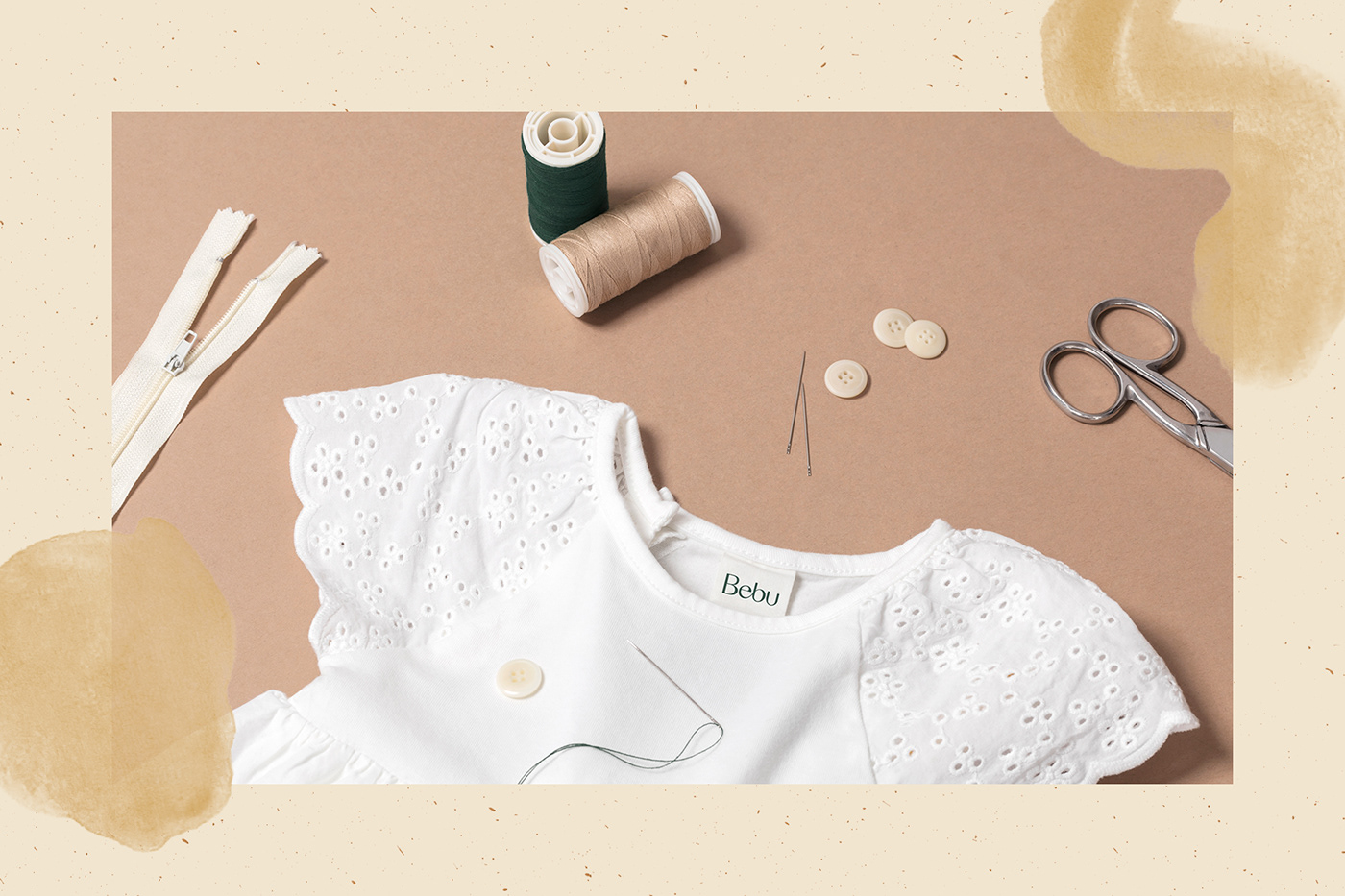 babies baby fashion branding  clothes design Fashion  graphic design  identity illustrations textures