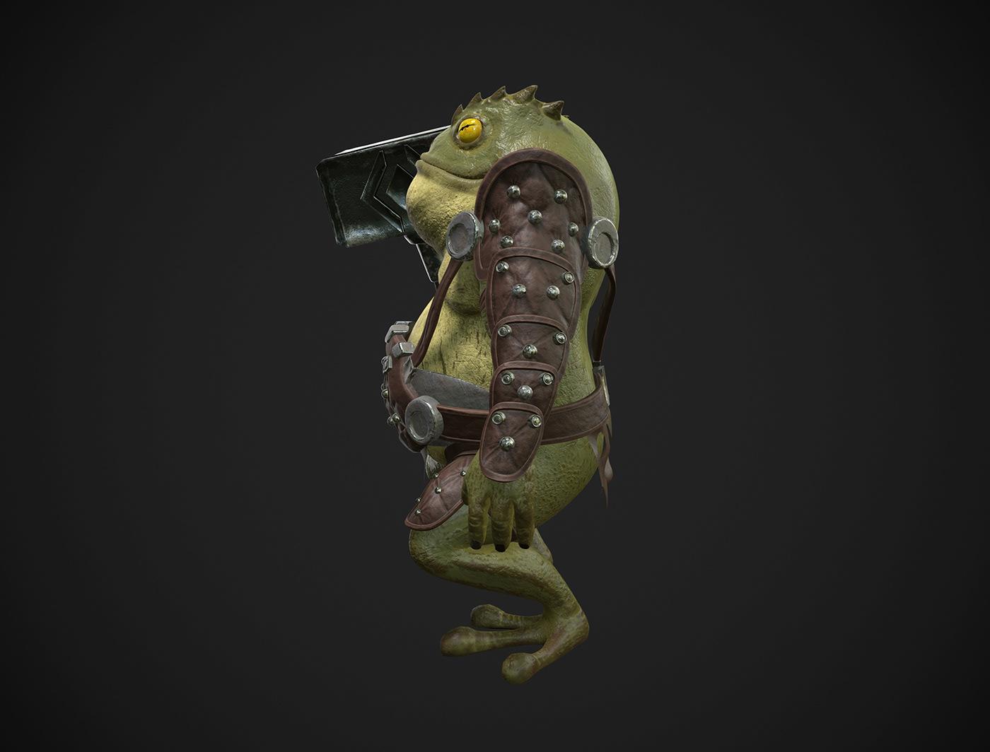 3ds max Zbrush substance 3d modeler generalist character artist warrior