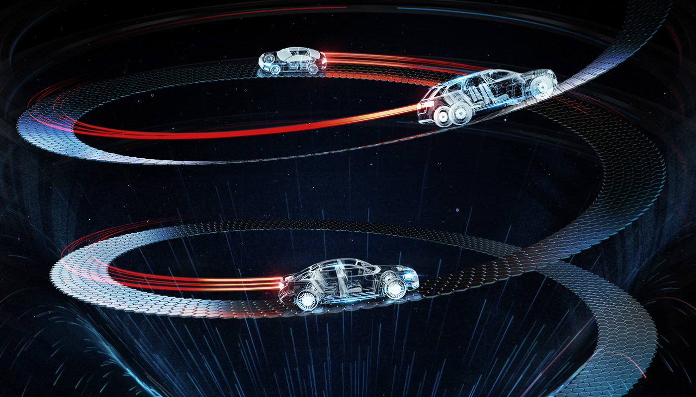dome projection laser Show Audi