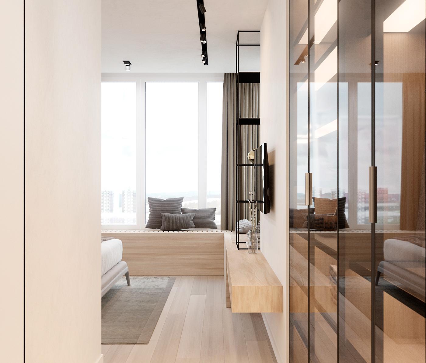 【国外作品】公寓空间设计 | ZOOI Interior studio