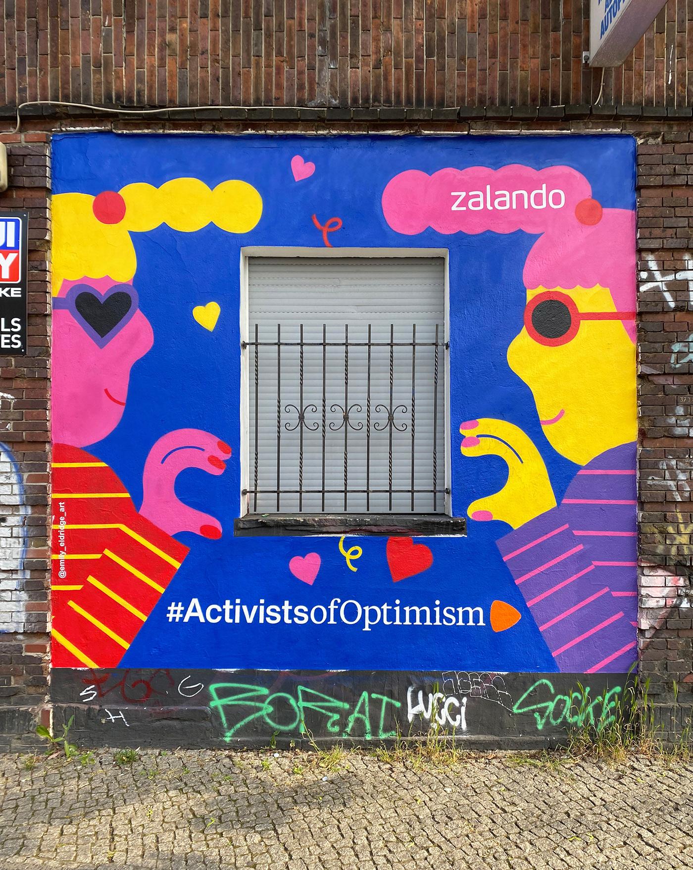 Character design  environmental graphics Graffiti ILLUSTRATION  Mural Painting Murals painting   spray paint Street Art