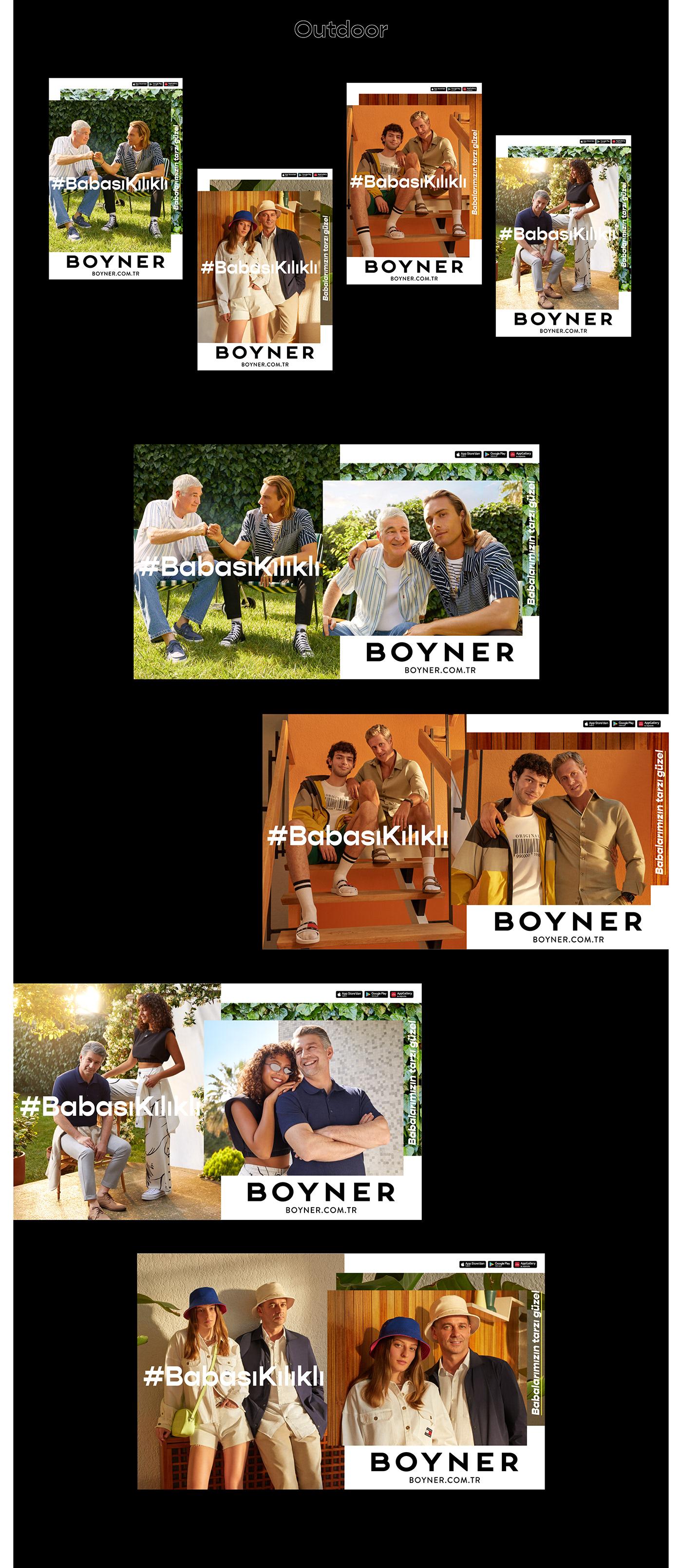 babasıkılıklı BOYNER campaign Fashion  Father's Day