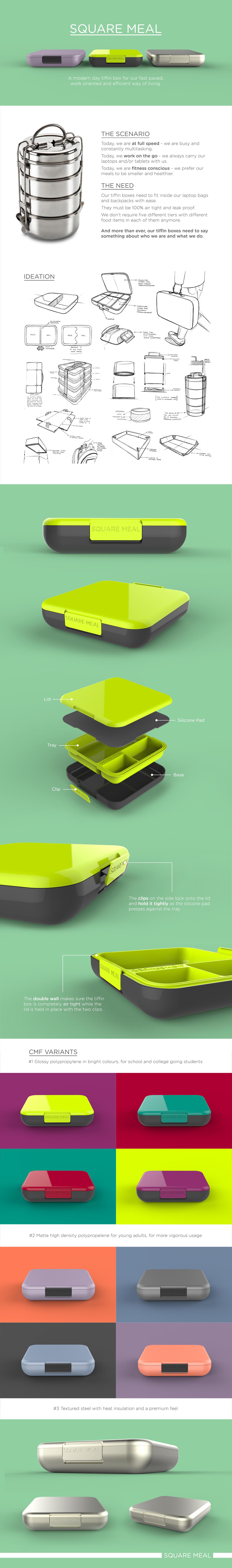有創意感的23張餐具盒設計欣賞