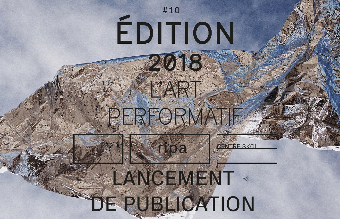 design Performance typography   risography editorialdesign shoot book Zine  art typedesign