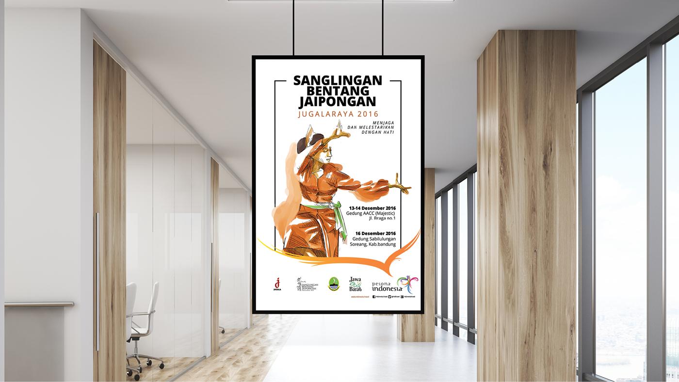 Event Branding indonesia jaipong jaipongan