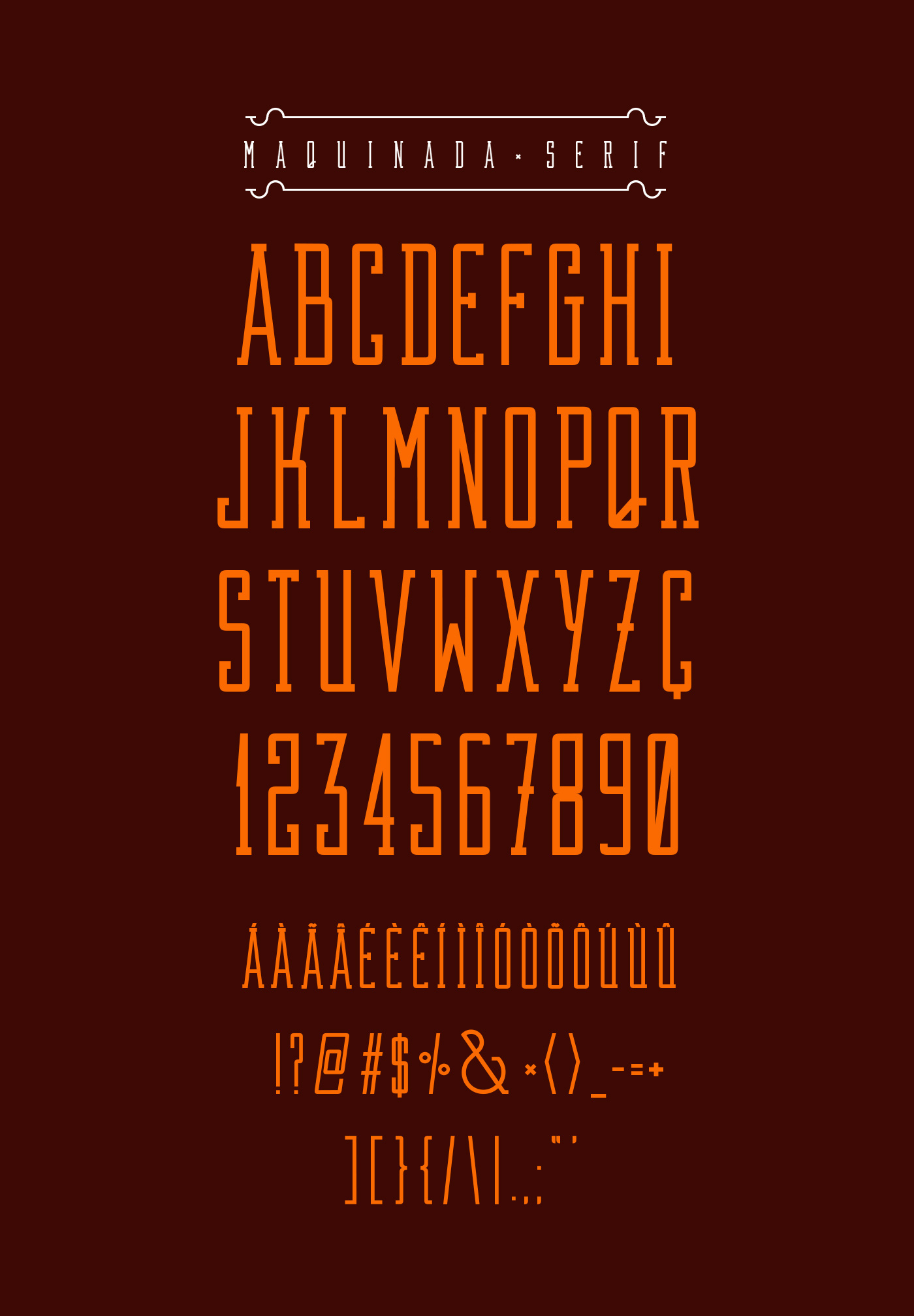 type Tipos letras all caps maquinada sans serif free type free font Typeface