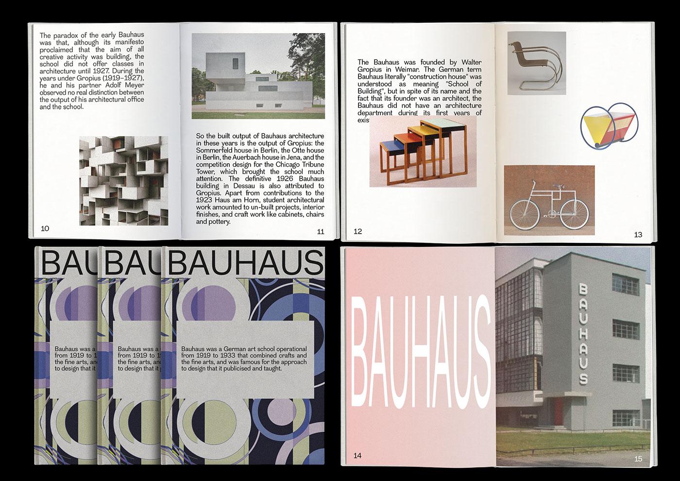 Bauhaus On Behance