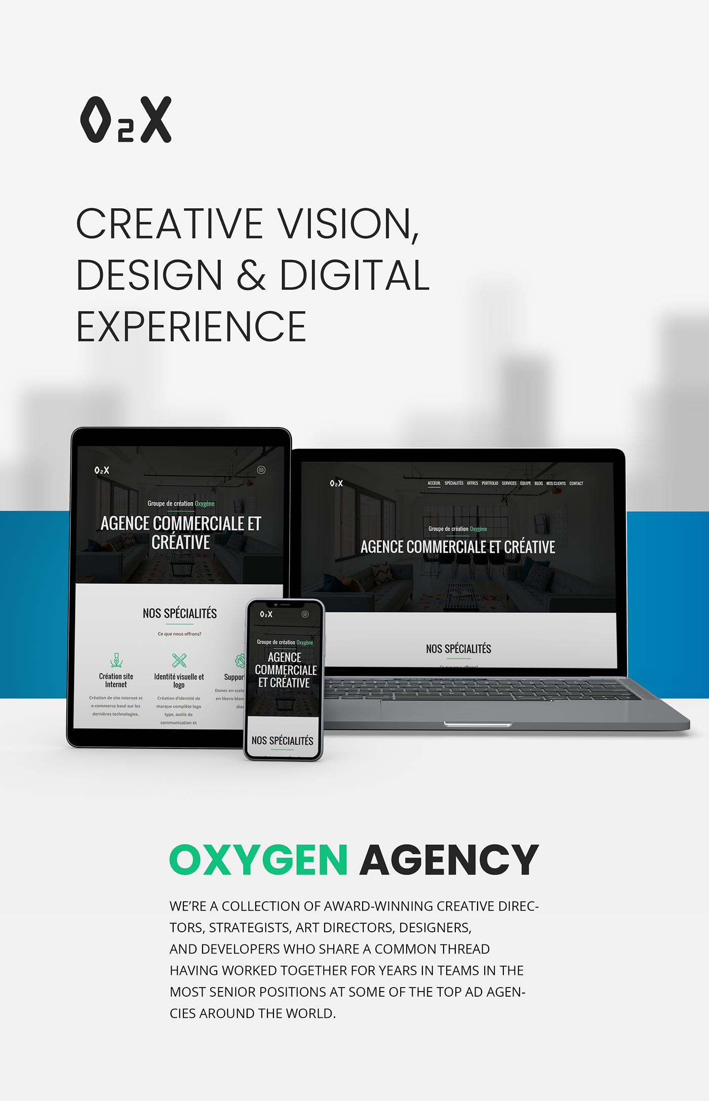 UI ux UI/UX Responsive web responsive Conception Web Web Design  Developement dev agency