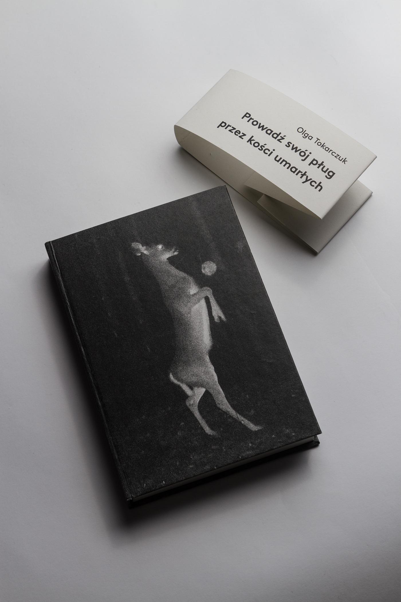 tokarczuk deer editorial publication crime night forest animal Pokot katowice
