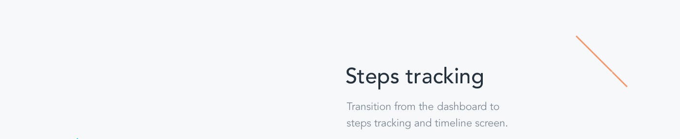 UI ux app motion interaction ios Health activity design