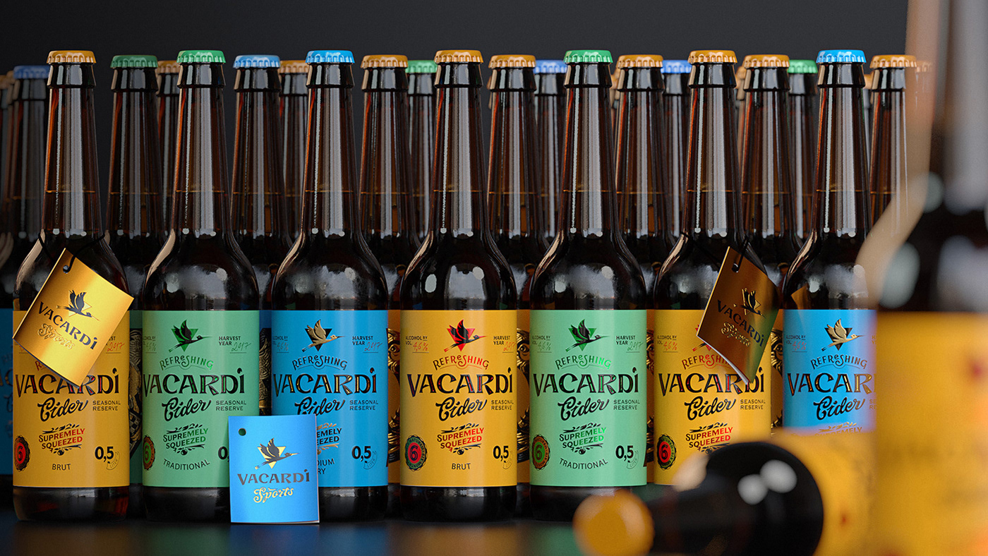 cider apple Vacardi supremely squeezed craft handmade